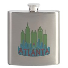 Atlanta Skyline Newwave Primary Flask