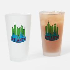 Atlanta Skyline Newwave Primary Drinking Glass