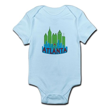 Atlanta Skyline Newwave Primary Infant Bodysuit