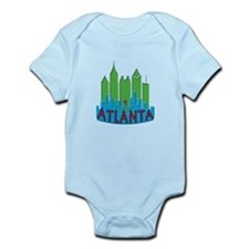 Atlanta Skyline Newwave Primary Infant Bodysuit