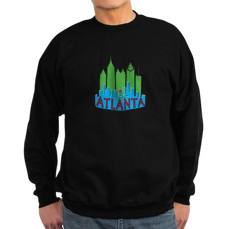 Atlanta Skyline Newwave Primary Sweatshirt (dark)