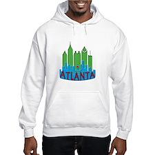 Atlanta Skyline Newwave Primary Hoodie