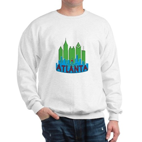 Atlanta Skyline Newwave Primary Sweatshirt