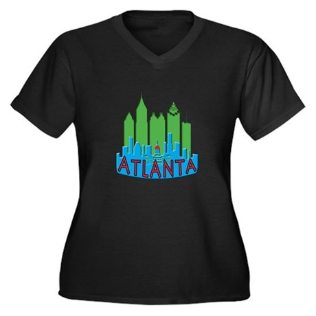 Atlanta Skyline Newwave Primary Women's Plus Size