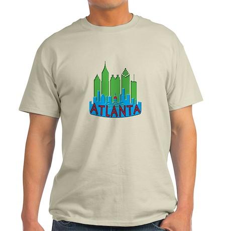 Atlanta Skyline Newwave Primary Light T-Shirt