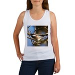 Chickadee in Tree Women's Tank Top