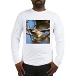 Chickadee in Tree Long Sleeve T-Shirt