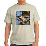 Chickadee in Tree Light T-Shirt