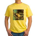 Chickadee in Tree Yellow T-Shirt