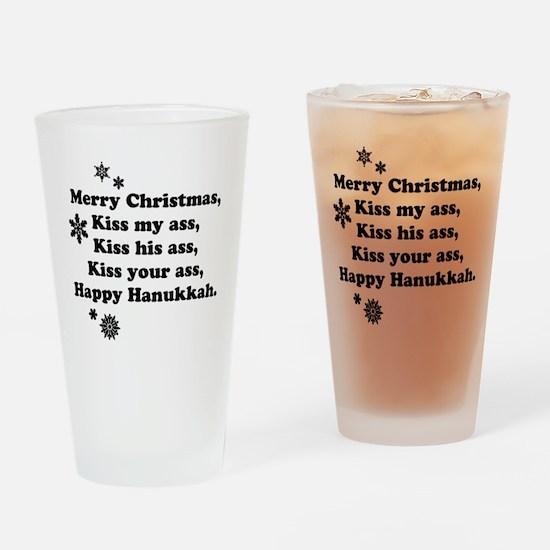 Cute Jewish holiday Drinking Glass
