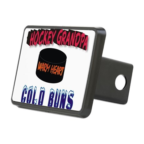 HOCKEY GRANDPA.png Rectangular Hitch Cover