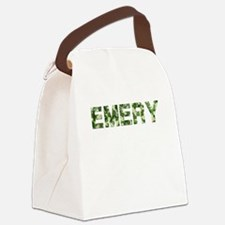 Emery, Vintage Camo, Canvas Lunch Bag