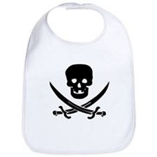 Jolly Roger Pirate Bib