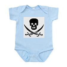 Jolly Roger Pirate Infant Bodysuit