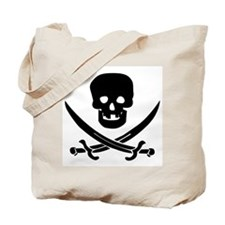 Jolly Roger Pirate Tote Bag