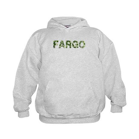 Fargo, Vintage Camo, Kids Hoodie