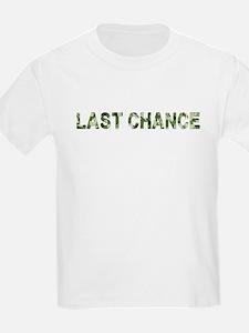 Last Chance, Vintage Camo, T-Shirt