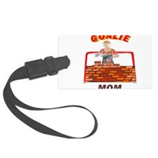 GOALIE MOM.png Luggage Tag
