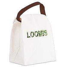 Loomis, Vintage Camo, Canvas Lunch Bag
