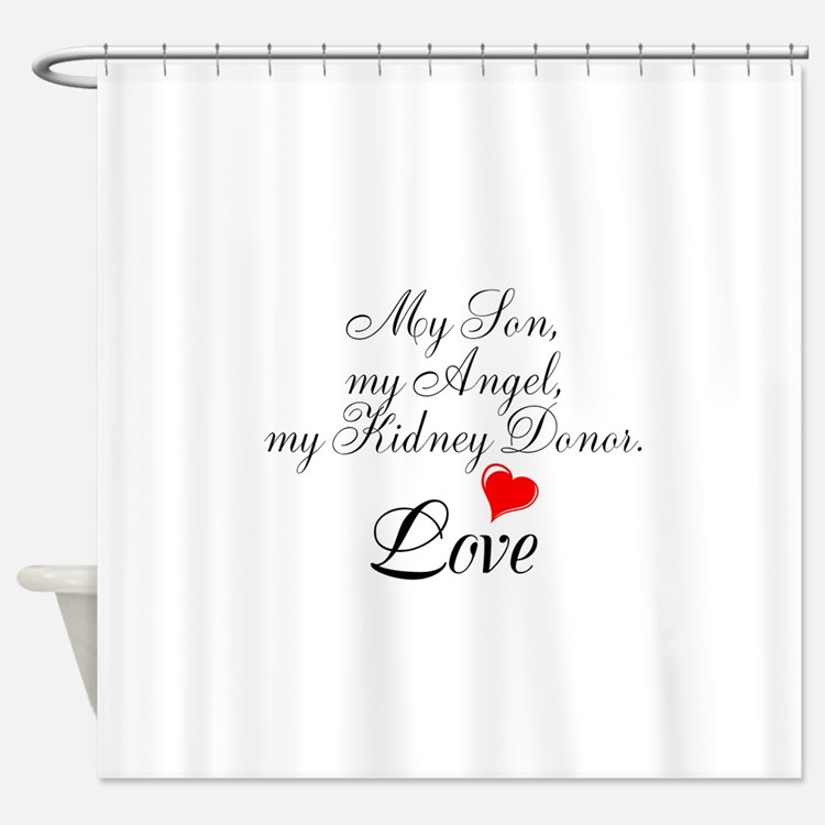 My Son,my Angel Shower Curtain