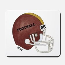 Football Helmet Mousepad