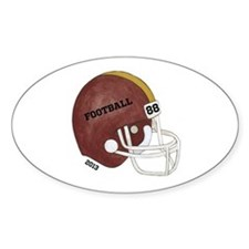 Football Helmet Decal