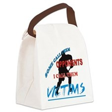 VICTIMS.png Canvas Lunch Bag