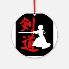 Kendo.JPG Ornament (Round)