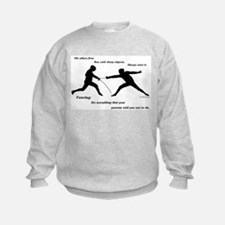 Hit First Sweatshirt
