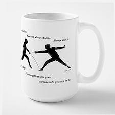 Hit First Mug