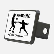 Beware of Short Fencers Hitch Cover