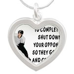 DEFENSE.png Silver Heart Necklace