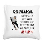 DEFENSE.png Square Canvas Pillow