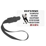 DEFENSE.png Large Luggage Tag