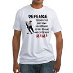 DEFENSE.png Fitted T-Shirt