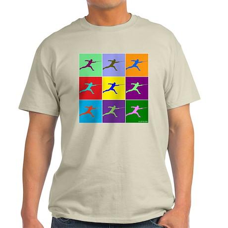 Pop Art Lunge Light T-Shirt