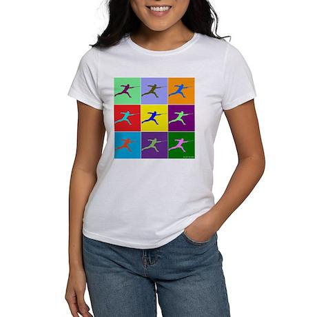 Pop Art Lunge Women's T-Shirt