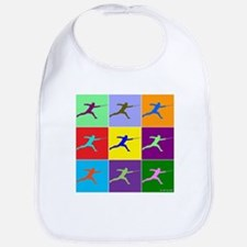 Pop Art Lunge Bib