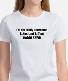 distract wood shed T-Shirt