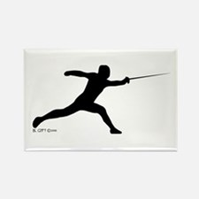Lunge Rectangle Magnet