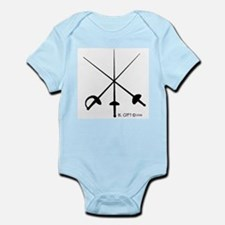Three Weapon Infant Bodysuit