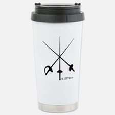 Three Weapon Travel Mug