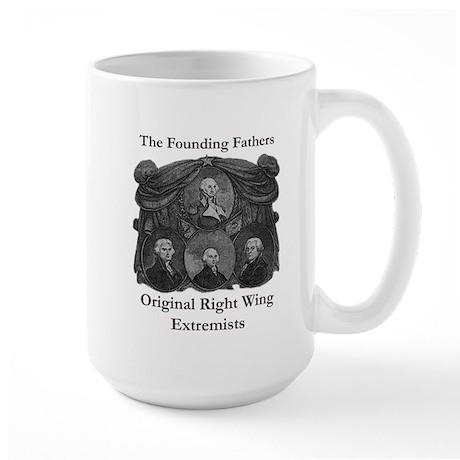 Original Right Wing Extremist Large Mug