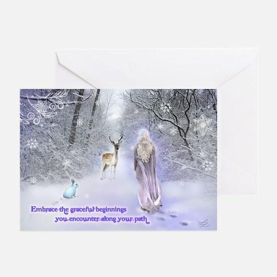 Snow Goddess Greeting Cards (Pk of 10)