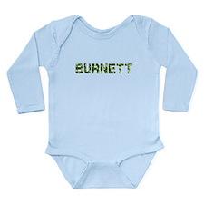Burnett, Vintage Camo, Long Sleeve Infant Bodysuit
