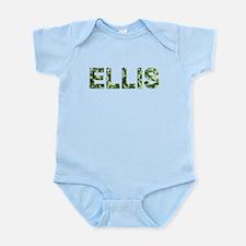 Ellis, Vintage Camo, Infant Bodysuit