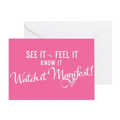 See it. Feel it. Know it. Greeting Card