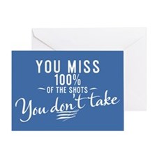 You Miss 100% Greeting Card