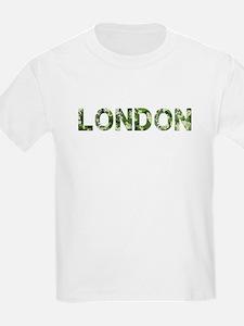 London, Vintage Camo, T-Shirt