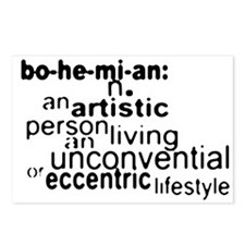 Bohemian Definition Postcards (Package of 8)